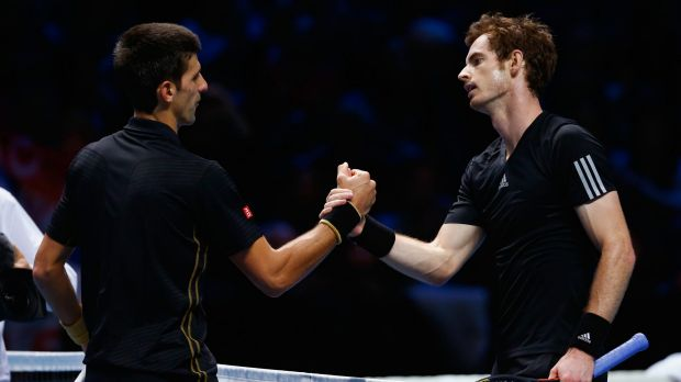 Novak Djokovic and Andy Murray played an exhibition match instead of the final.