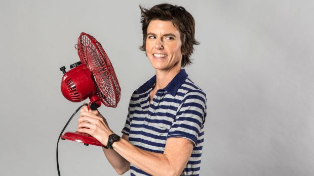 """But US comedian Tig Notaro revealing her double mastectomy scars on stage was slammed as """"vulgar"""" and """"indecent""""."""