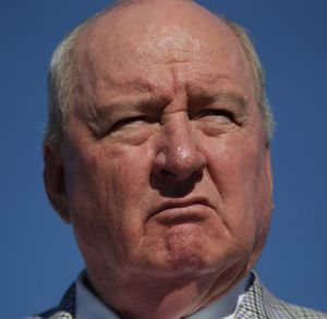 Traumatised: Alan Jones in a file picture.