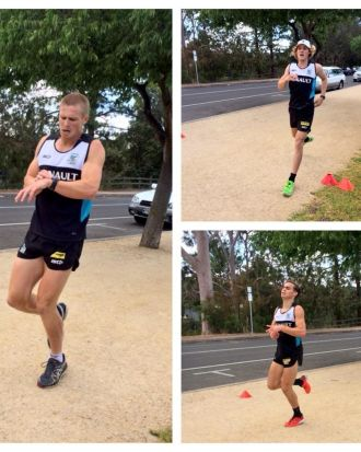 Time trial work at Port Adelaide.