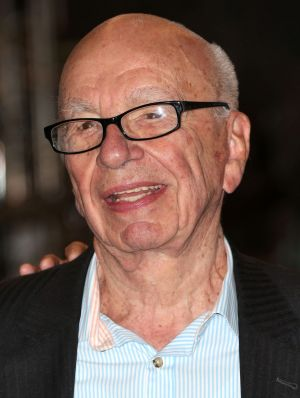 Grip slipping: News Corp chairman Rupert Murdoch