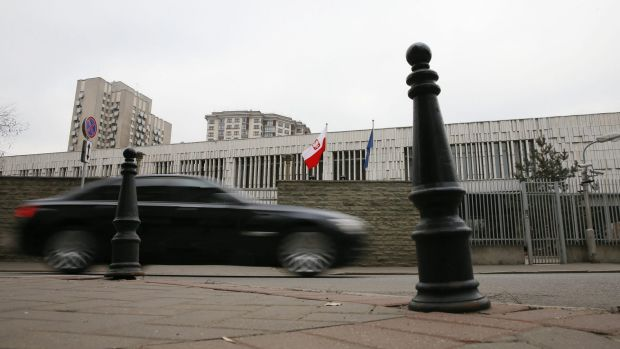 Tit-for-tat explusions: The Polish embassy in Moscow. Russia said on Monday several of its diplomats had been expelled ...