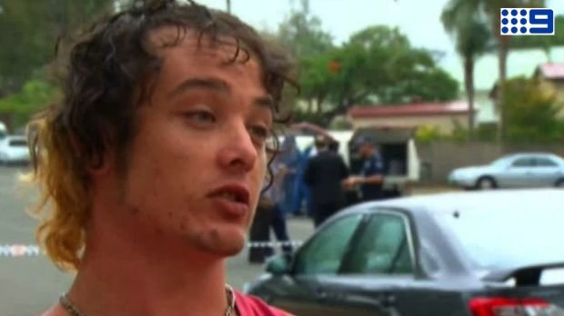 Adam Sant watched police shoot his housemate dead at Kippa Ring.