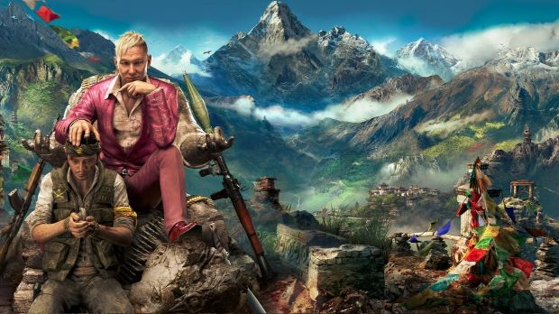 Far Cry 4 is set in Kyrat, a fictional nation populated by a psychotic but charming dictator and his massive army.
