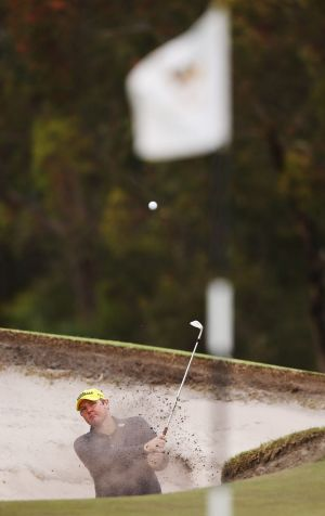 """""""There's going to be no tears on the first tee this year"""": Jarrod Lyle."""