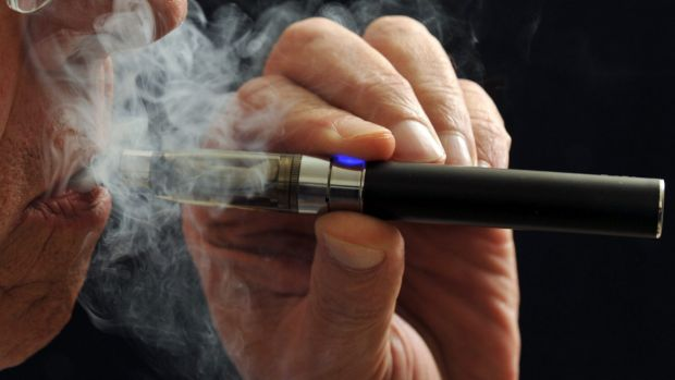 """Vape"": To inhale and exhale the vapour of an electronic cigarette."