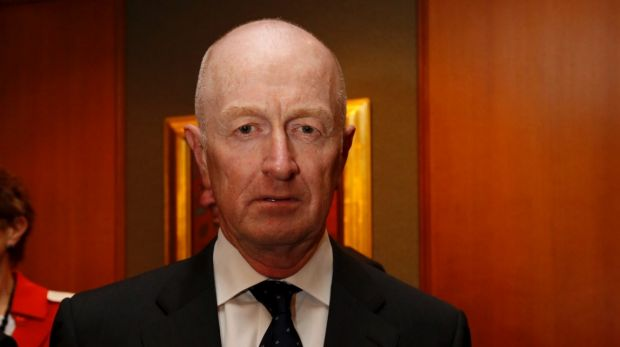 Reserve Bank governor Glenn Stevens, one of the speakers at the Financial Review Banking and Wealth Summit.