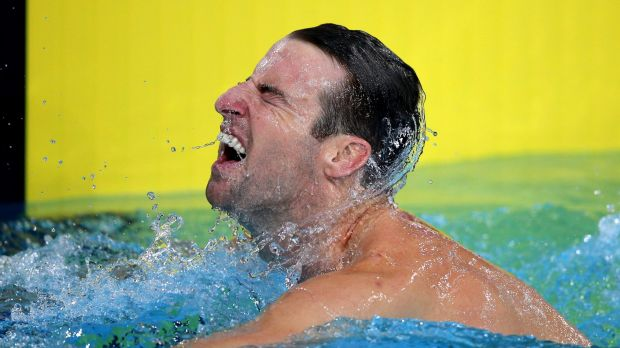 Turning silver into gold: James Magnussen has his sights set on Olympic gold.