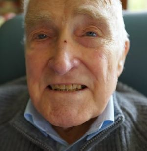 John Morison on his 90th birthday last year. He may never see his son again.