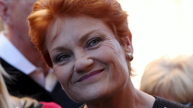 "Pauline Hanson has named Scott Morrison as her pick for future Liberal leader, saying Malcolm Turnbull ""leans too much ..."