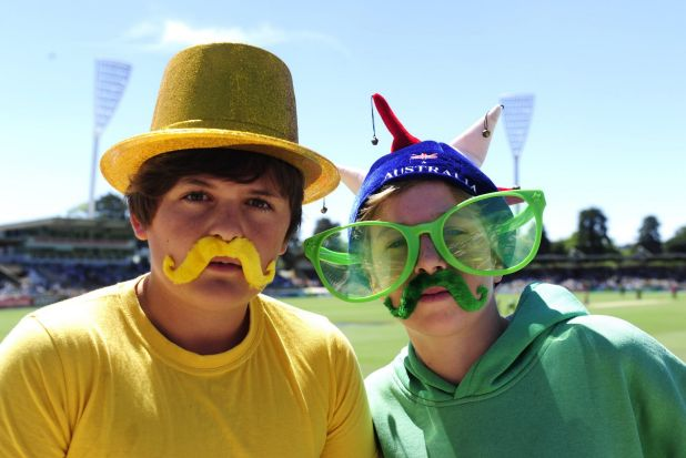 From left, Liam Sweeney,13 of Narooma and Rory Spurgeon,12 of Narooma.
