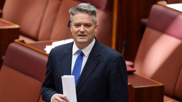 Efficiency dividends: Senator Mathias Cormann.