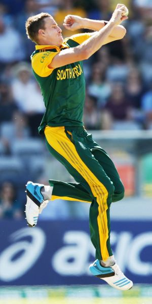 The Proteas' Morne Morkel toiled following his man-of-the-match performance in the second one-day international.