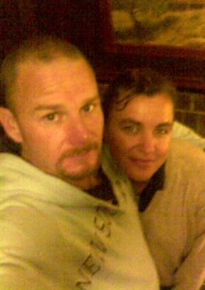 """Nothing suspicious"" in woman's fatal fall: Paul Veitch and Megan Moody, who died after falling over a cliff."