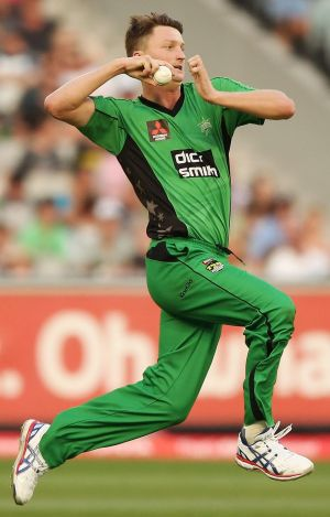 Bolter: Melbourne Stars' bowler Jackson Bird's Shield form has seen him get a surprise call-up.