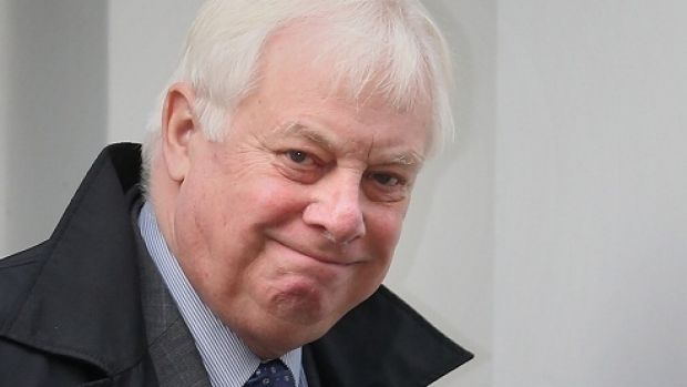 Wants adherence to pact: Chris Patten, the former British governor of Hong Kong.