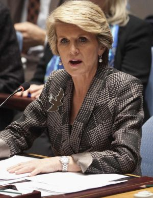 Julie Bishop: Obama overstated climate change threat to Great Barrier Reef.