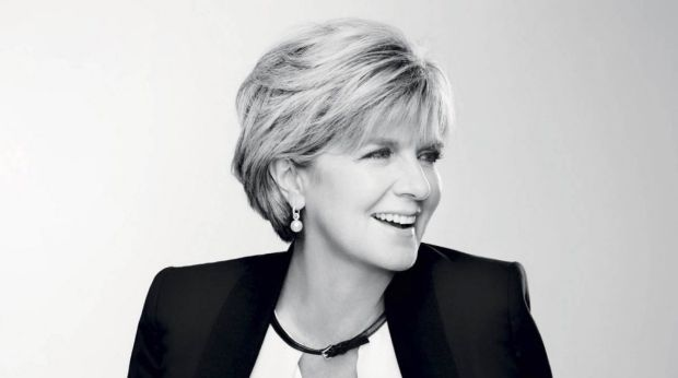 """If you believed all the things written about you, you'd just pull the doona over your head"": Julie Bishop."