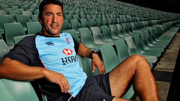 Ambitions: Waratahs assistant coach Daryl Gibson.