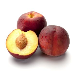 Perfect peaches: Careful how you pick them.