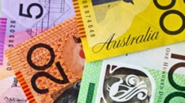 Australia's dollar rose for a ninth day, climbing 0.7 per cent to US73.77¢, after advancing the most since December 2011 ...