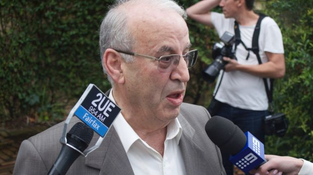 Eddie Obeid, who has been charged by the DPP following corruption findings by the ICAC