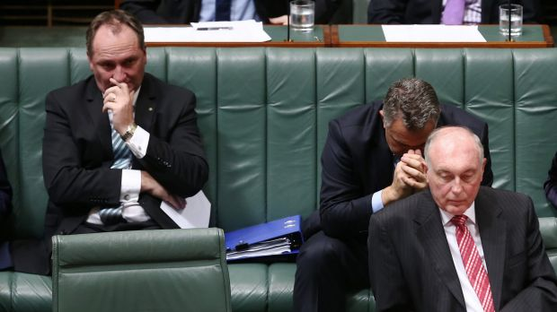 Agriculture Minister Barnaby Joyce is believed to becoming impatient about taking over from Warren Truss as Nationals leader.