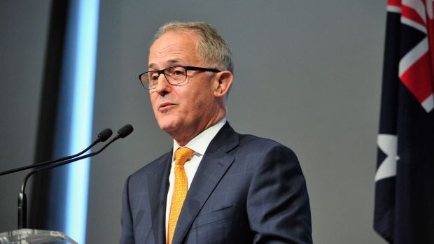 Prime Minister and former communications minister, Malcolm Turnbull.