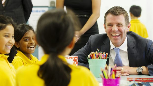 Premier Mike Baird has announced extra funding for NSW education.