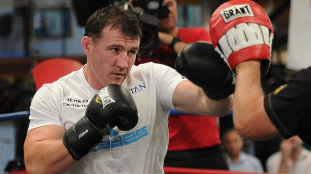 The fight with the NRL is over, but Paul Gallen is in training for his next bout, this time in the ring.