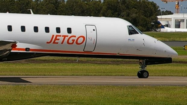 Jetgo has canned plans to fly a route between Sydney and Roma.