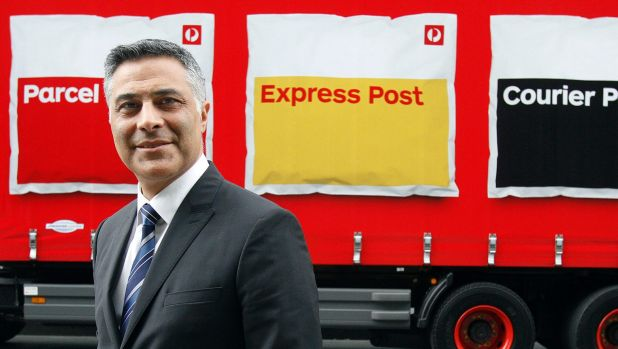 Ahmed Fahour says Australia Post is at crisis point.