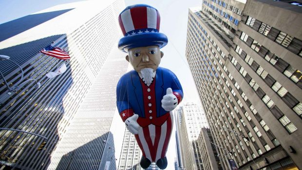 "Uncle Sam to the rescue: The American economy ""remains the strongest anchor of the global recovery,"" the investment bank ..."