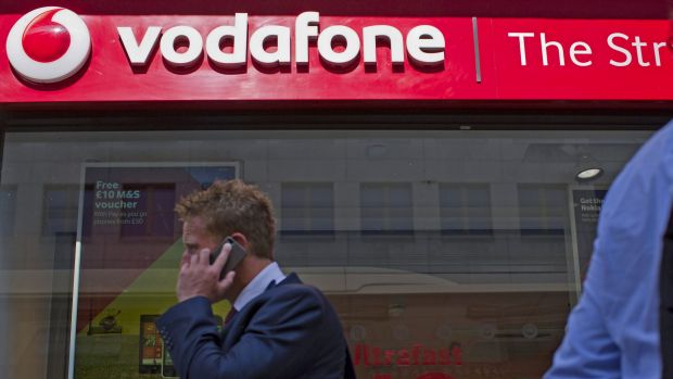 Vodafone lost 46,000 mobile customers in the 12 months ending December 2014.