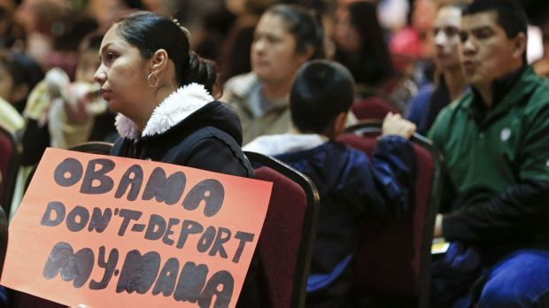 Appeal: Five million undocumented immigrants hope to be allowed to stay in the US.