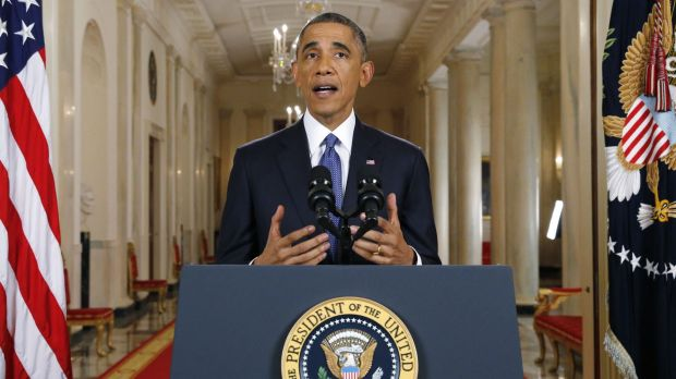 Barack Obama announces executive actions on US immigration policy during a nationally televised address from the White House.