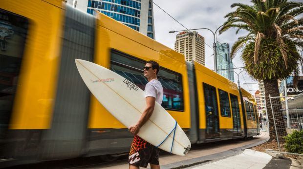 """""""Labor supports the extension of the light-rail system to connect with heavy rail at the northern end of the Gold Coast."""""""