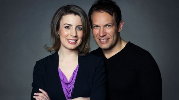 Mass appeal: Emma and Denis Merkas, owners of Melt: Massage for Couples, a business that became an instant winner.