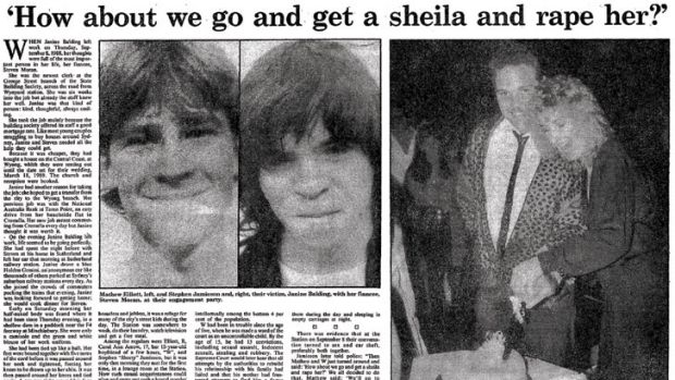 A report in the <i>Herald</i> on June 23, 1990, on the trial of Matthew Elliott, left, who was 16, and Wayne Jamieson, ...