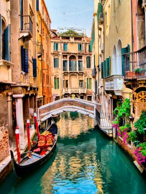 Scenic Venice will start fining tourists $A750 for their noisy wheels.