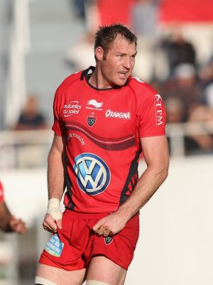 Former All Black Ali Williams, pictured during his time with Toulon.