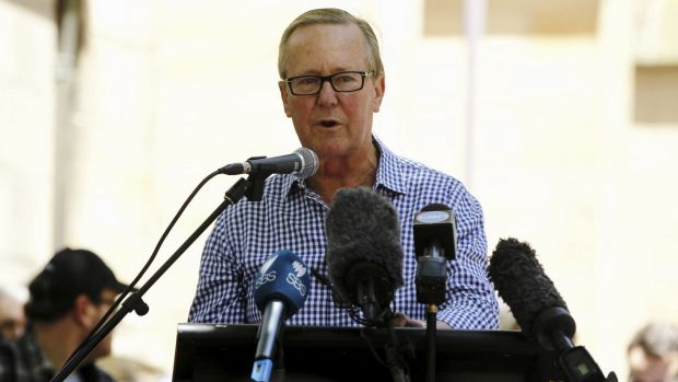 """Presenter and ABC journalist Quentin Dempster labelled Malcolm Turnbull """"a bullshitter""""."""