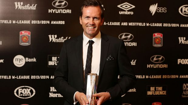 First fired: Mike Mulvey was named A-League Coach of the Year last season.