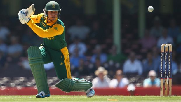 Quinton de Kock's strokeplay was of the highest order against Australia during the fourth ODI at the SCG.