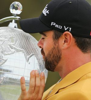 Nick Cullen embraces his Masters trophy.