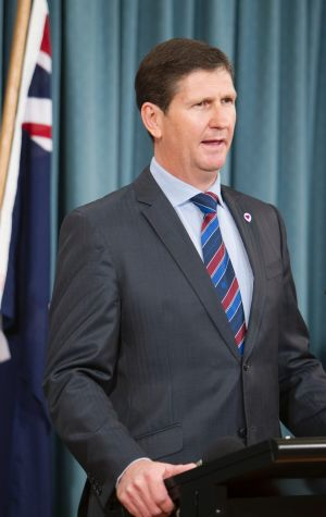 Health Minister Lawrence Springborg has defended government advertising spending.