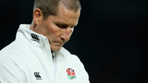 Problems: England coach Stuart Lancaster.