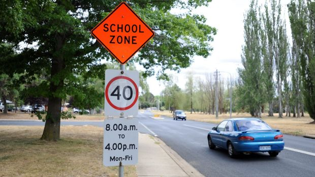 40km/h speed limits are set to go beyond school zones in Canberra, with local shopping centres to have reduced speed limits.