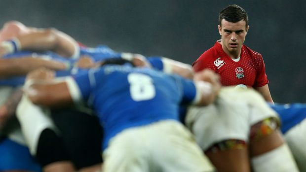 Promising: George Ford impressed in his run-on debut.