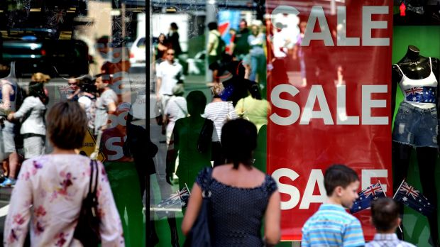 Signs: The last few trading days before Christmas will be crucial for the retail sector.